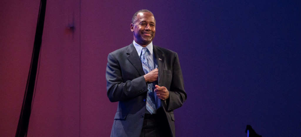Carson leads the GOP field among potential VP picks. (Image via Flickr)