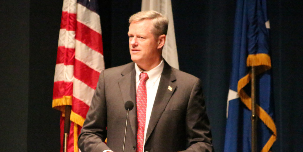 Massachusetts Gov. Charlie Baker (R) is the most popular governor in America. Image via Flickr