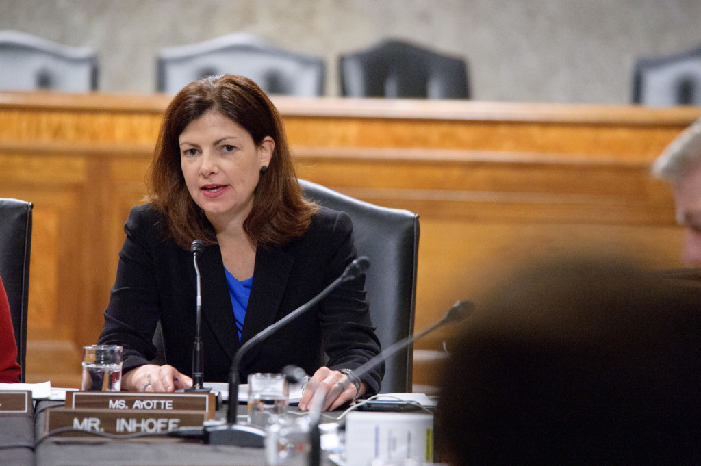 Ayotte doesn't sound thrilled about the prospect of a vote-a-rama. (Image via flickr)