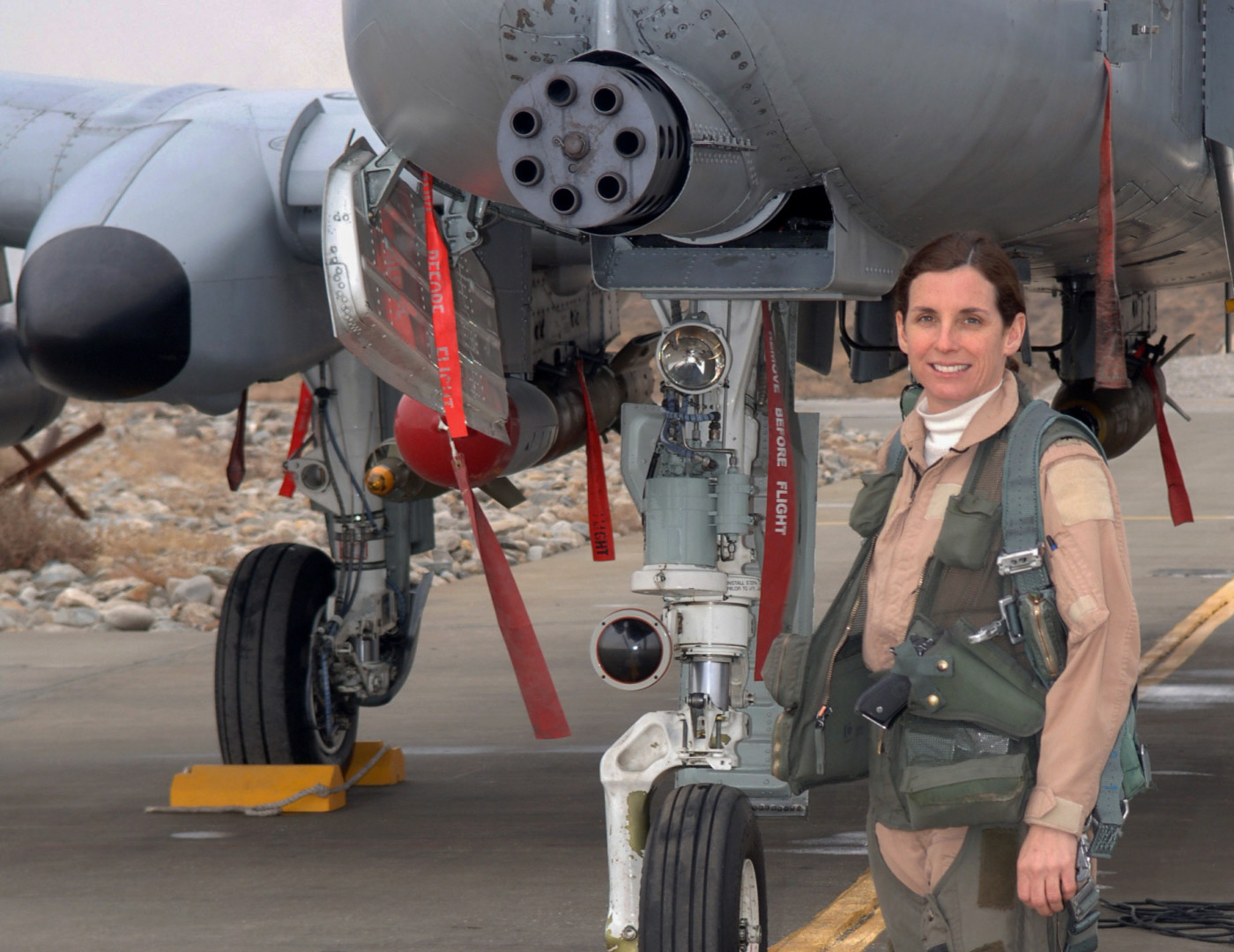 Rep. Martha McSally (R-Ariz.) was the first woman to fly into combat. (USAF photo)