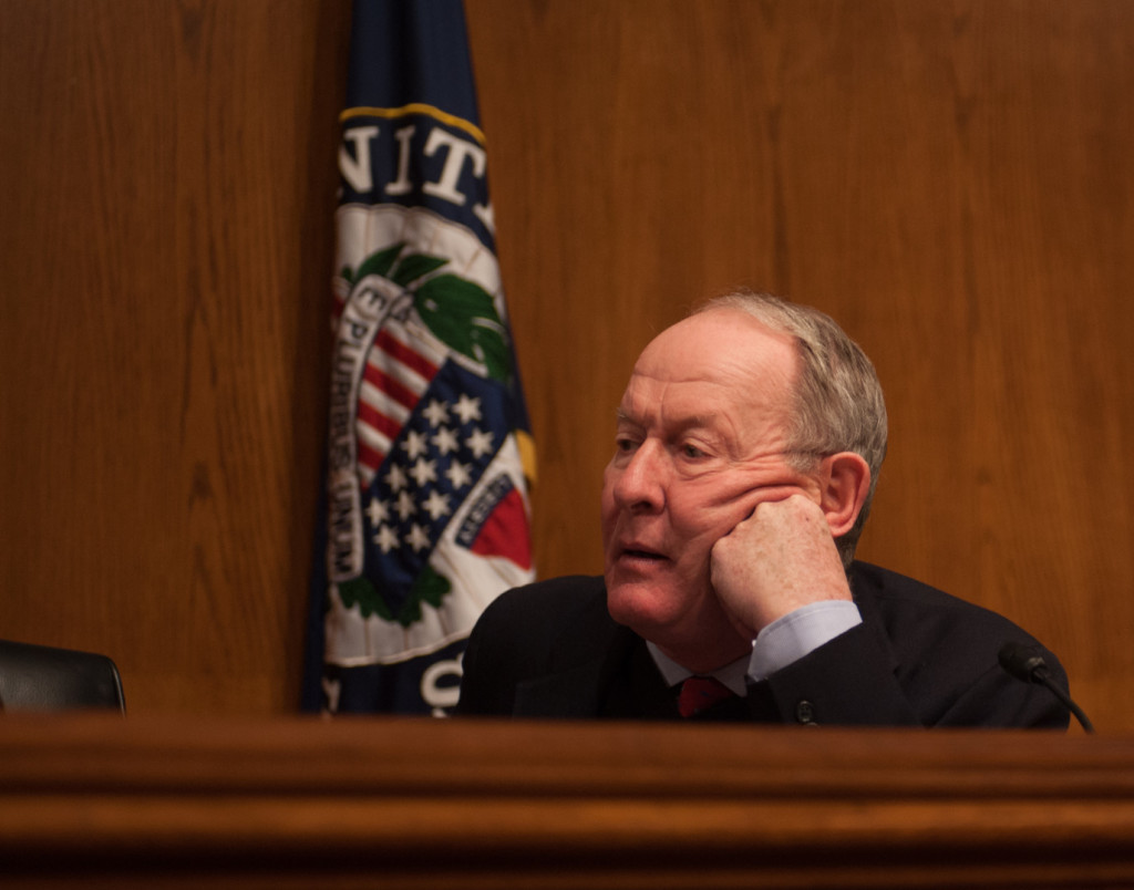 Senate Help Committee Chairman Lamar Alexander of Tennessee. (Rob Kunzig/Morning Consult.)
