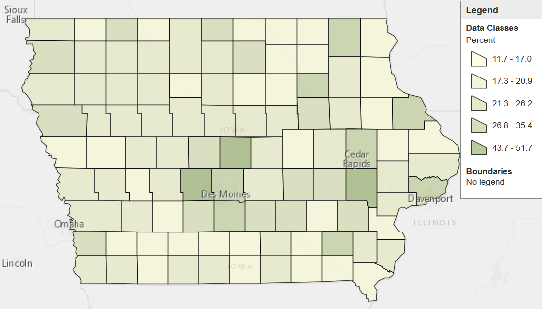 Eleven Maps That Explain Iowa