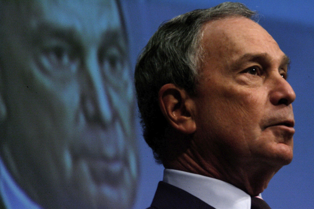 New York City Mayor Michael R. Bloomberg addresses staff members of The World Bank  (Photo by Chip Somodevilla/Getty Images)