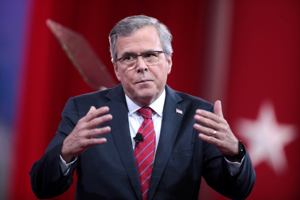Jeb Bush says his brother kept us safe, but voters are split on the question. (Image via Flickr)