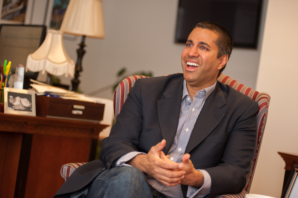 Pai is expected to be the interim chairman of the FCC. (Rob Kunzig/Morning Consult)