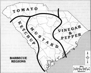 "Source: ""South Carolina: The Makings of a Landscape,"" Charles Kovacik, 1989, University of South Carolina Press."