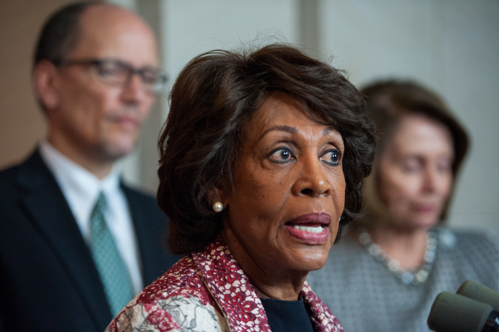 Waters was a lead signatory on a letter to Trump. (Rob Kunzig/Morning Consult)