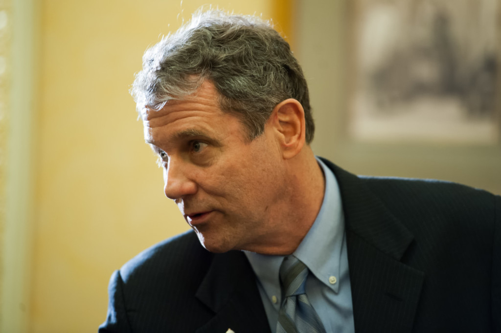 Brown says 'underbanked' would not be served by fintech. (Rob Kunzig/Morning Consult)