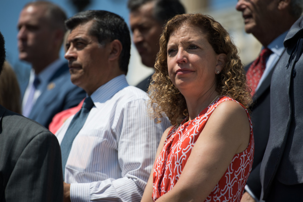 Wasserman Schultz said she's been talking with Califf about changes to the program. (Rob Kunzig/Morning Consult)
