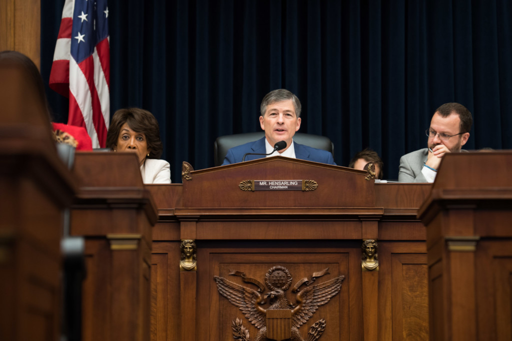 Hensarling announced subcommittee chairs Friday. (Rob Kunzig/Morning Consult)