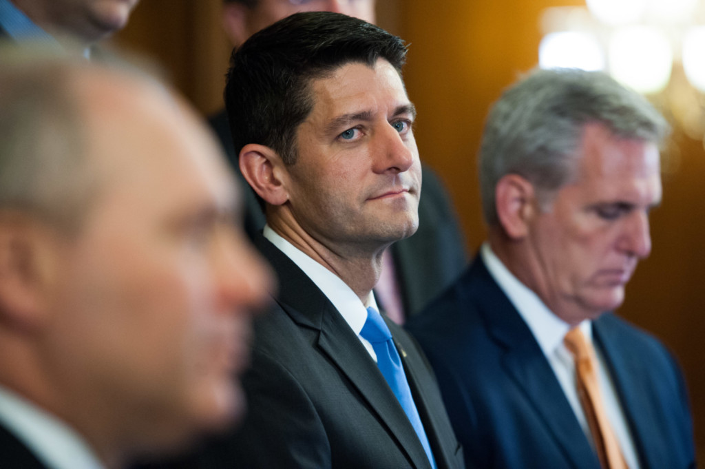 Ryan was easily re-elected Tuesday. (Rob Kunzig/Morning Consult)