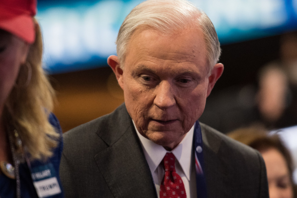 Sessions' confirmation hearing lasted two days. (Rob Kunzig/Morning Consult)