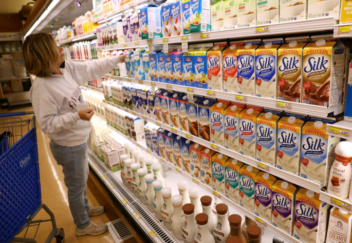 Got Milk? For 46% of U S  Adults in Poll, Only if It's From